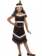 Childs Native American Inspired Girl Costume